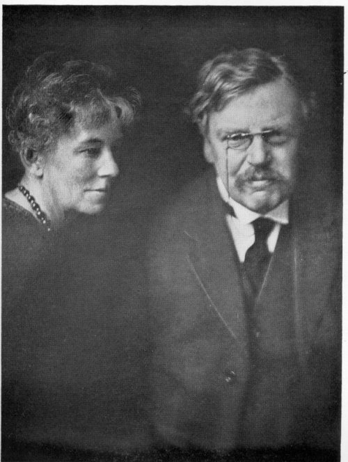 GK Chesterton and Frances Bloggs